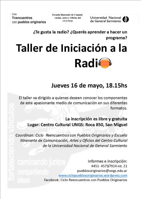 Afiche Radio