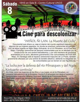 Cine para Descolonizar- Wiñol ñi lan
